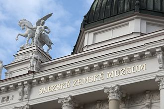 Silesian Museum (Opava) - The entrance to the main museum
