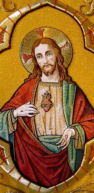 Sacred Heart - Image: S CORDIS IESU SEVEREN ENTE