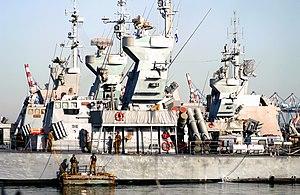 Sa'ar 4.5-class missile boat - Image: Sa'ar 4.5 INS Romah and INS Sufa