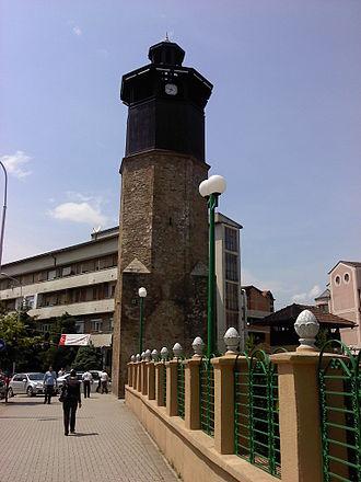Gostivar - Gostivar's clock tower