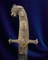 Sabel med lejonhuvud, från 1793 - Livrustkammaren - 64842.tif