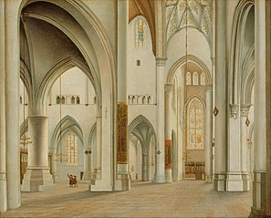 The Interior of St. Bavo, Haarlem