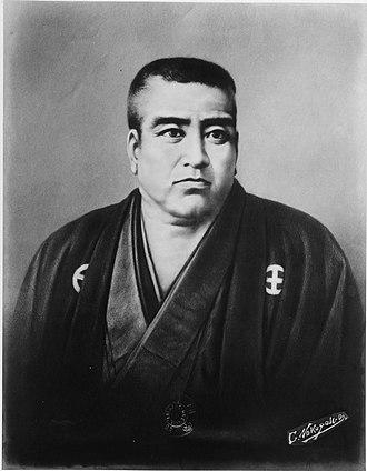 Saigō Takamori - Saigō Takamori, by Edoardo Chiossone