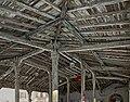 Saint-Félix-Lauragais - Vue du plafond de la halle.jpg