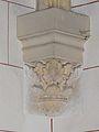 Saint-Sauveur (Dordogne) église cul-de-lampe.JPG