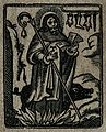 Saint Antony. Woodcut Wellcome V0031586.jpg