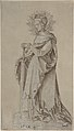 Saint Catherine Leaning on a Sword MET DP802888.jpg
