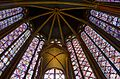 Saint Chapelle stained glass windows 2, Paris May 2014.jpg