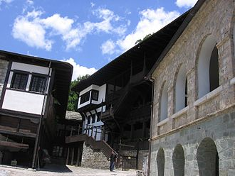 Debar - Monastery of Saint Jovan Bigorski Monastery near Debar.