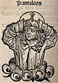 Saint Pantaleon. Woodcut. Wellcome V0032779.jpg