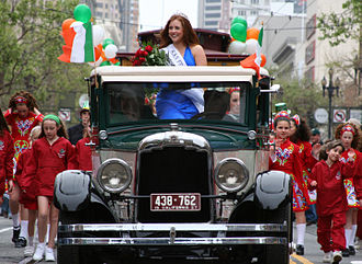 Saint Patrick's Day in the United States - Saint Patrick's Day parade, San Francisco, 2007.