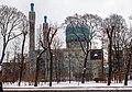 Saint Petersburg Mosque in winter.jpg