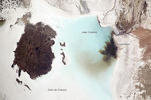 Coipasa Lake - Image: Salar de Coipasa, Bolivia