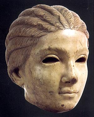 Croatian art - Image: Salona girl