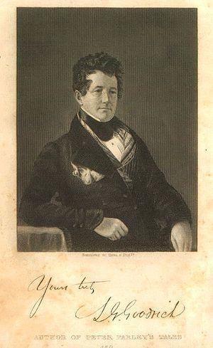Samuel Griswold Goodrich - Image: Samuel G. Goodrich