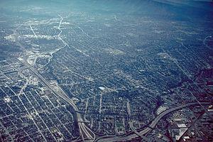 South San Jose - Aerial view of South San José.