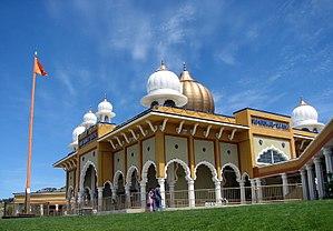 Gurdwara Sahib of San Jose - Front of Sikh Gurdwara - San Jose