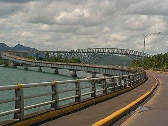 San Juanico Strait - Image: San Juanico Bridge