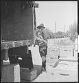 "San Leandro, California. Youth on Relief. ""Everytime they got something good, 'ya don't get a chance to get any."" He... - NARA - 532130.tif"