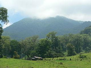 Sierra de los Tuxtlas mountain range