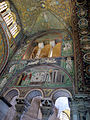 San vitale, ravenna, int., presbiterio, mosaici di dx 01.JPG