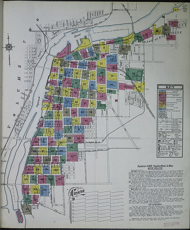 File Sanborn Fire Insurance Map from Bay City Bay County Michigan