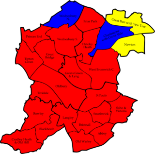 2007 Sandwell Metropolitan Borough Council election