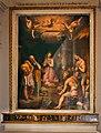 Santi di tito, adorazione dei pastori, 1566 ca., con predella di ridolfo del ghirlandaio, 01.jpg
