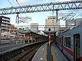 Sanyo Himeji Station platform 20180101.jpg