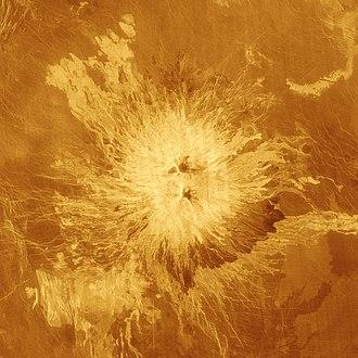 Sapas Mons - Image: Sapas Mons