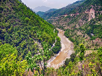 Sarju River - Sarayu River