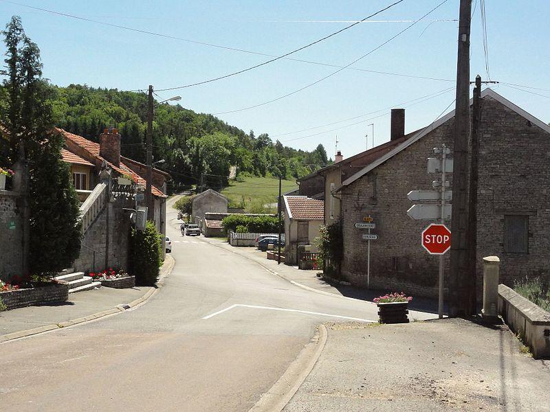 Saucourt-sur-Rognon, carrefour D114 - D67a