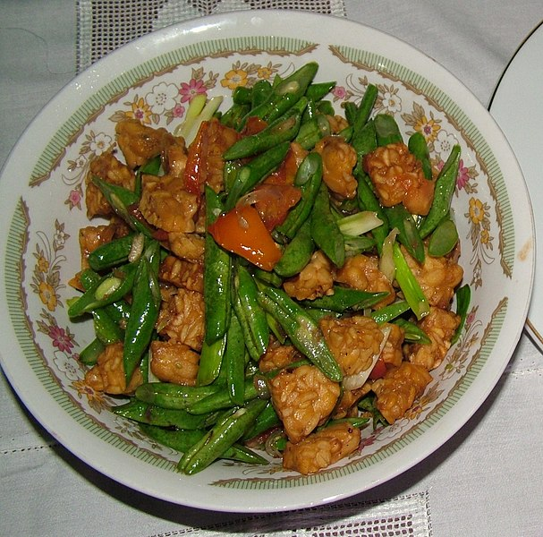 File:Sautéed Tempeh cropped.jpg