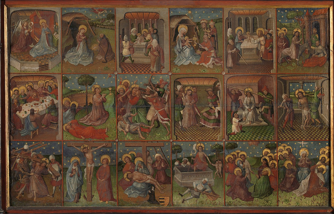 Scènes de la vie du Christ