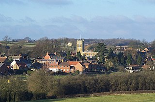 Scalford Village in Leicestershire, England