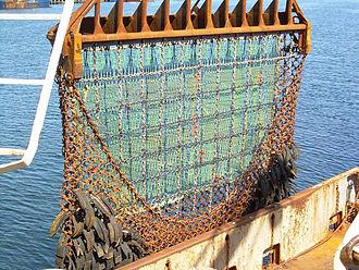 Fishing dredge - Image: Scallop dredge 2