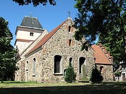 Dorfkirche von Schönerlinde, Gemeinde Wandlitz, Landkreis Barnim, Land Brandenburg, Deutschland