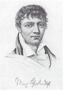 Stahlstich, vor 1818 (Quelle: Wikimedia)