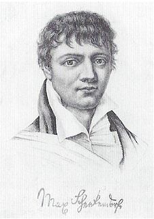 Max von Schenkendorf Prussian poet, song-writer and soldier