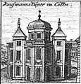 Schleuen - Kaufmannsbörse in Cölln 1757.jpg