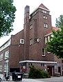 School, Dintelstraat 5, gezien van de Geulstraat, Amsterdam Zuid..JPG