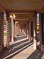 Schwetzingen - Schlossgarten - Moscheehof - Wandelgang 2.jpg