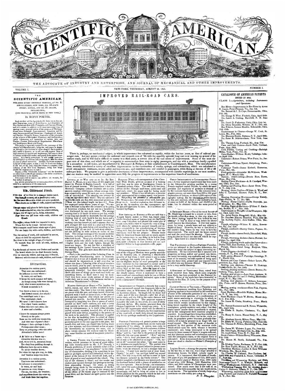 Scientific American - Series 1 - Volume 001 - Issue 01.pdf