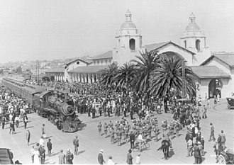 San Diego and Arizona Railway - Image: Sdadepot