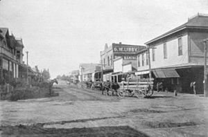 Sebastopol, California - Main Street, circa 1898