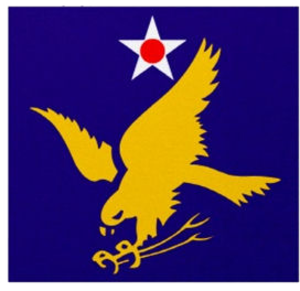 Great Bend Army Air Field - Image: Second Air Force Emblem (World War II)
