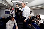 Secretary Kerry Toasts His Staff Aboard His U.S. Air Force Plane During the Final Flight of his Tenure (32395201305).jpg