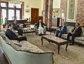 Secretary Pompeo Meets With President Ghani and Chief Executive Abdullah Abdullah in Afghanistan (42591976144).jpg