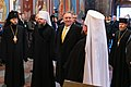 Secretary Pompeo Tours St. Michael's Cathedral in Kyiv (49469815903).jpg