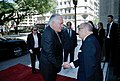 Secretary Tillerson is Greeted by Argentine Foreign Minister Faurie at Palacio San Martin (25212546547).jpg